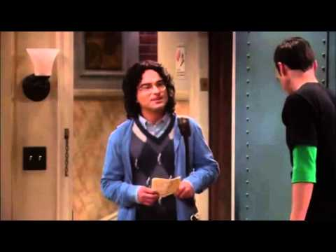 Big Bang Theory-First time Sheldon meets Leonard