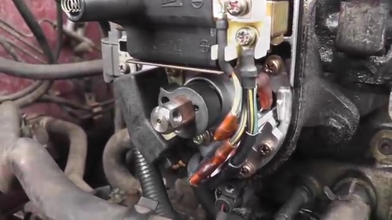 1991 Honda Civic Hatchback Wiring Diagram Beetle Insect Parts Crv Ignition Control Module Replacement - Engine Cutting Out Problem Youtube