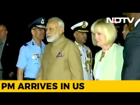 PM Modi Arrives In Washington, Will Meet Trump On Monday