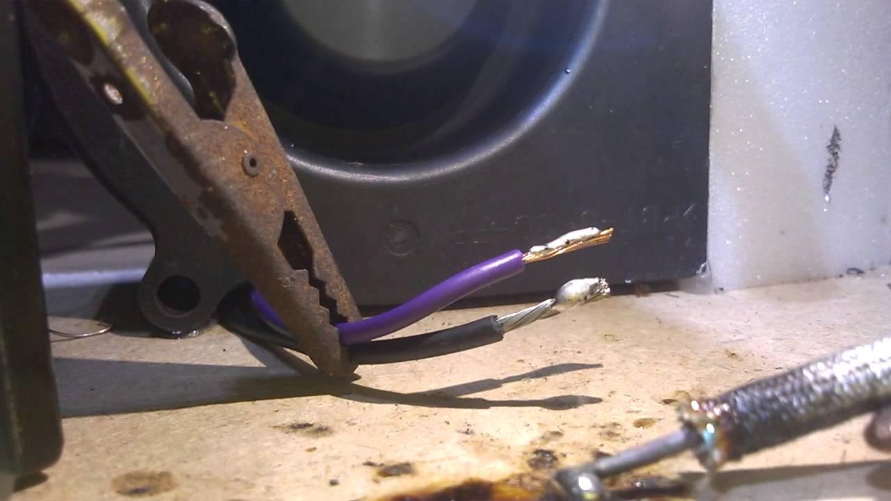 homemade 12v soldering iron - YouTube