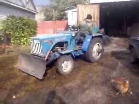самодельные трактора с семерке ваз фото хайру э?сон