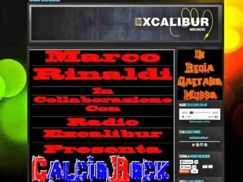 Calcio Rock From Radio Excalibur.flv