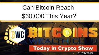 Can bitcoin Reach $60,000 Still This Year?.. Today In Crypto Show 11/07