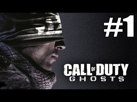 call of duty ghosts part1เริ่มรายการด้วยเกมยิงปืน