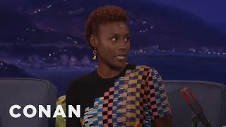 "Issa Rae: Trump ""Stole My P***y Thunder""  - CONAN on TBS"