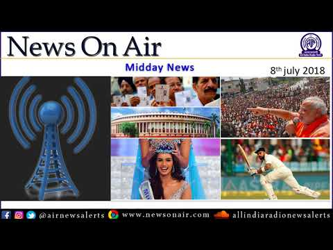 Midday News 8 July