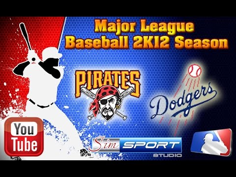 Pittsburgh Pirates-Los Angeles Dodgers. MLB2K12