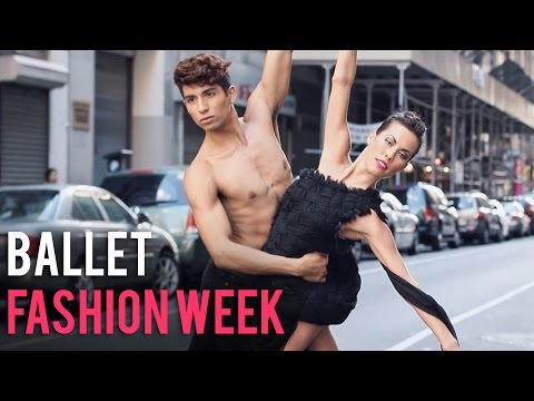 DANCING IN THE STREET IN FASHION WEEK  | Alexander Fost