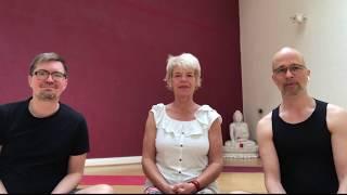 Iyengar Yoga mit MInka