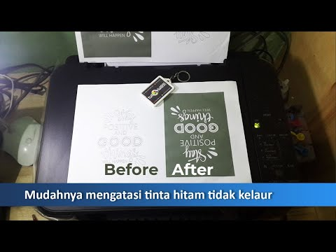 Tips Mengatasi Tinta Kering Di Cartridge.