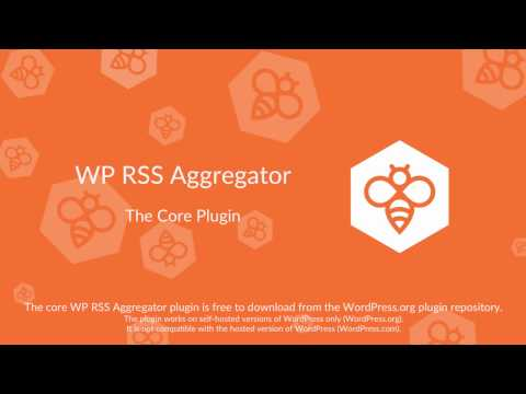 WP RSS Aggregator : Core Plugin Overview