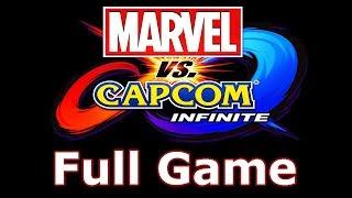 Marvel Vs Capcom Infinite Walkthrough Part 1 Full Game - No Commentary Playthrough (PS4)
