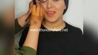 Cut crease make-up tutorial Beauty by Fatima