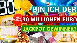 #4 Bin ich der 90 Millionen Euro Jackpot Gewinner?