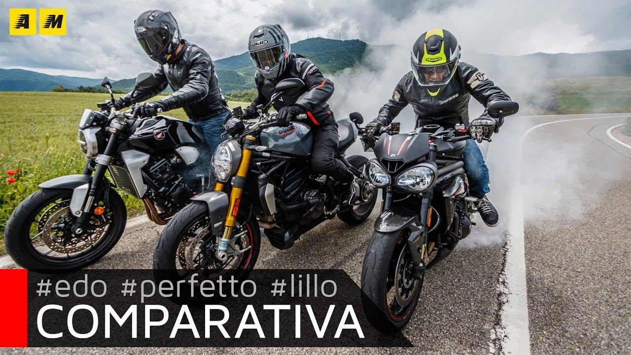 Ducati Monster 1200s Vs Honda Cb1000r Vs Triumph Speed Triple