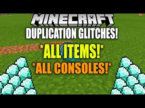 ALL WORKING DUPLICATION GLITCHES FOR ALL CONSOLES! (ANY ITEM) Minecraft (Village and Pillage Glitch)