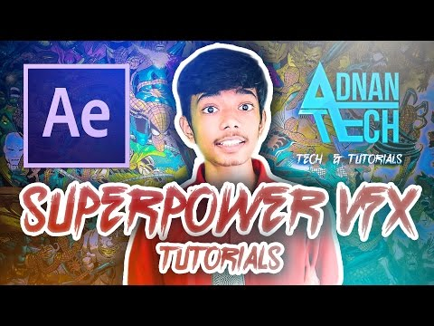 Inroducing After Effects Tutorials Series!! - SuperPowerVFX Series