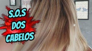 Revitalização para cabelos elásticos, porosos e quebradiços