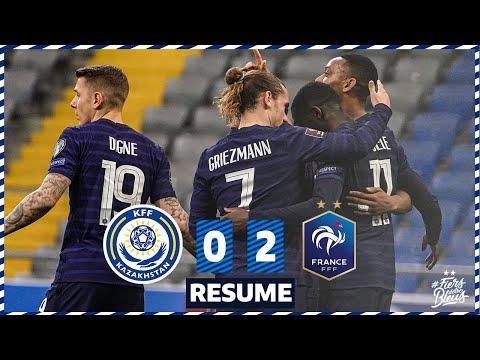 Kazakhstan 0-2 France, le résumé