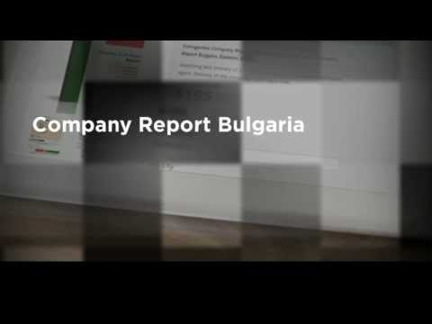Bulgaria - Company Credit Report & Background Information
