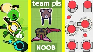 Parody: The Mind of .io Teams (Surviv.io, Moomoo.io, Diep.io)