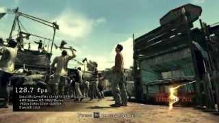 Resident Evil 5 PC  Test HD 7870  Benchmark dx9 vs dx11  Maxed out [high settings]  i5 3470