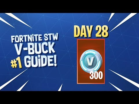 *ALL* Ways To Get V-Bucks In Fortnite STW - VBUCK REWARDS!