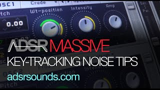 NI Massive - Keytracking Noise Pro Tip