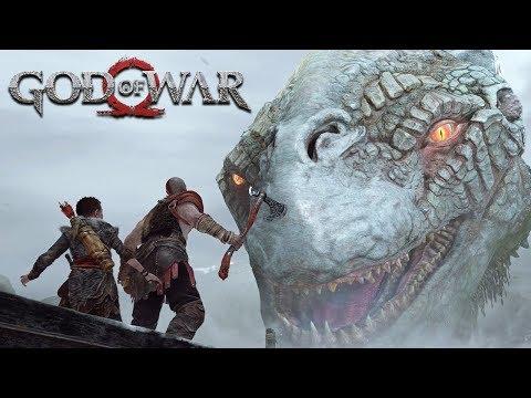 GOD OF WAR - #4: Jörmungandr APARECE! (Gameplay em 4K do PS4 Pro)