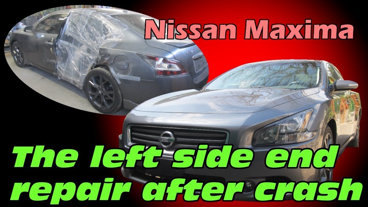 Nissan Maxima. Body repair. Ремонт кузова.