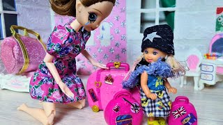 Я УХОЖУ! Катя и Макс веселая семейка смешной сериал куклы в реальной жизни Даринелка ТВ