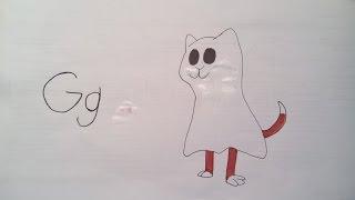 Cat Baton Letter G
