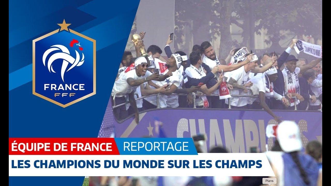 Equipe de France : les Champions du Monde sur les Champs-Elysées