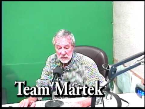 Team Martek with Investment Broker, Joe Martek