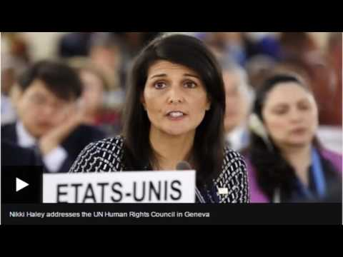 US warning over its UN Human Rights Council role