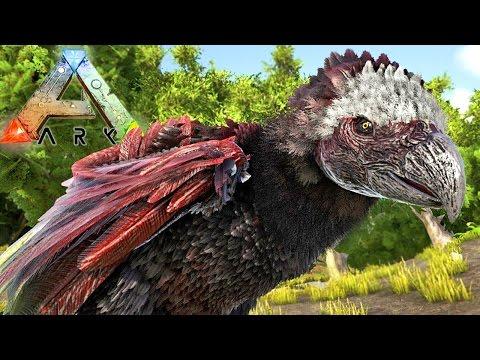 ARK Survival Evolved - Domando Uma Águia Gigante, Allosaurus e T-Rex! | Dinossauros (#5) (PT-BR)