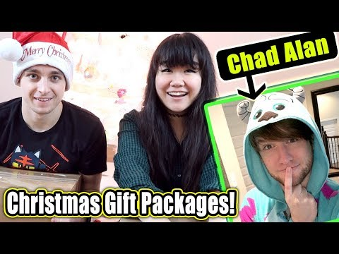 Unboxing Surprise Christmas Gift Packages from Chad Alan with MicroGuardian!