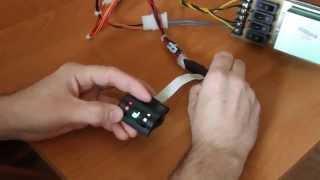 Универсальный 2-х канальный контроллер подогрева сидений - программирование