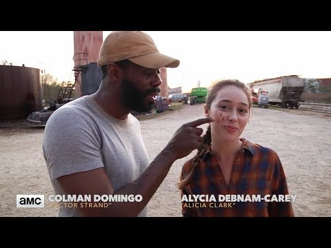 Fear The Walking Dead: Making of Ep. 402  Alycia DebnamCarey