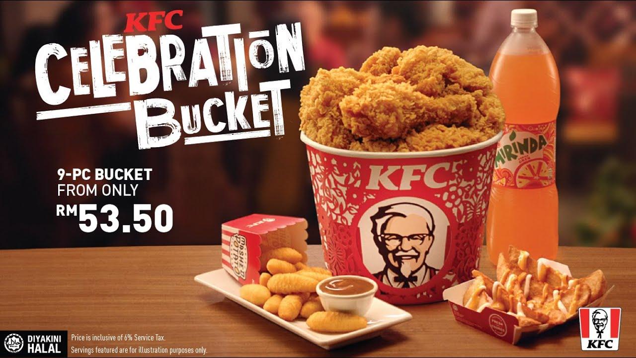 Go Big With Kfc Celebration Bucket Youtube