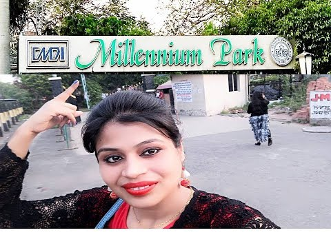 vlog # Millennium Park at Kolkata/Today is a Special Day. So I am in Park