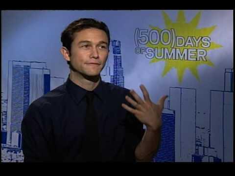 Joseph Gordon Levitt interview for 500 Days of Summer