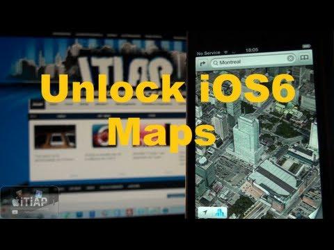 Unlock IOS6 Maps - Activer La 3D Sur Les Anciens Appareils ! (6.0+)