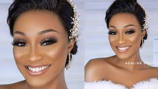 BRIDAL MAKEUP TUTORIAL  |  Natural Wedding GLAM