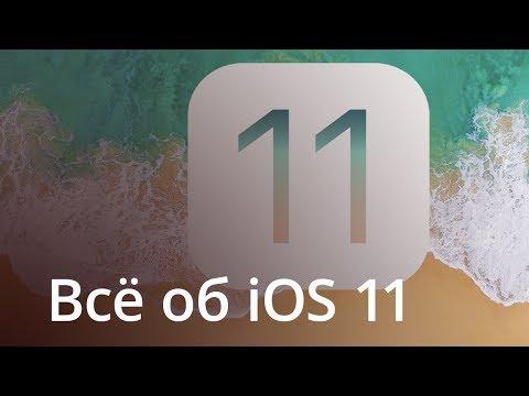 Полный обзор iOS 11
