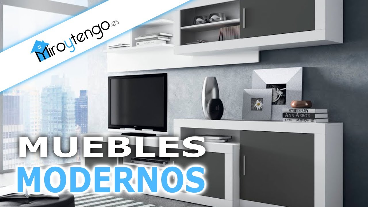 Catalogo de muebles de salon modernos sencillos y for Sofas modulares baratos