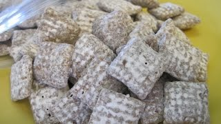 Puppy Chow - How To Make Muddy Buddies Recipe