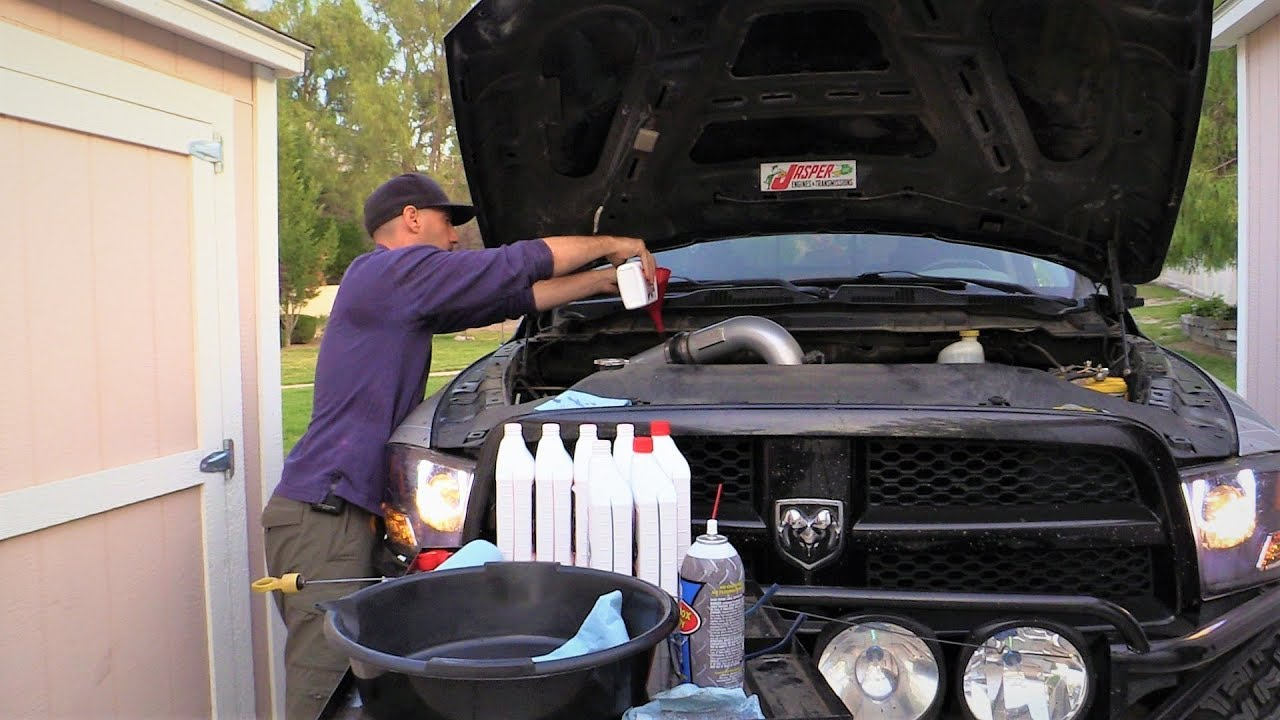 Do It Yourself Transmission Fluid and Filter Change in the Dodge Ram 1500  Hemi