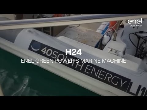 Enel Green Power's Marine Machine, when energy comes from the sea