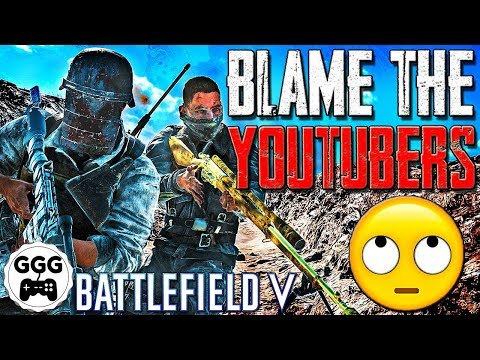 """YouTubers Are Killing Battlefield 5"" - But Are They REALLY? (BF5 Content Creator ""Drama"") thumbnail"